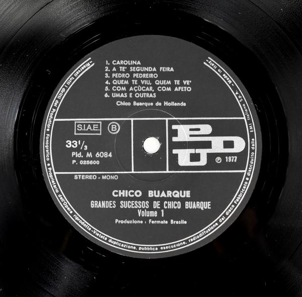 Chico Buarque - Grandes Sucessos De Chico Buarque Volume1