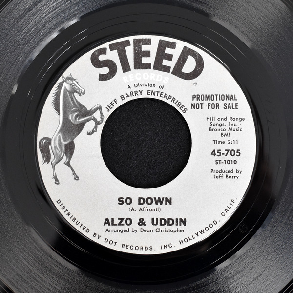 Alzo & Uddin - Sitting In The Park / So Down