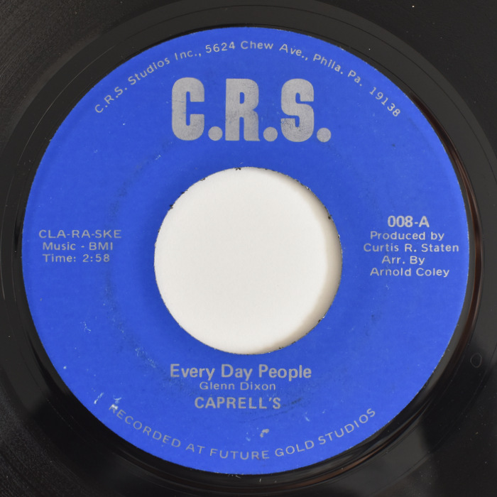 Caprell's - Every Day People / Which Will It Be