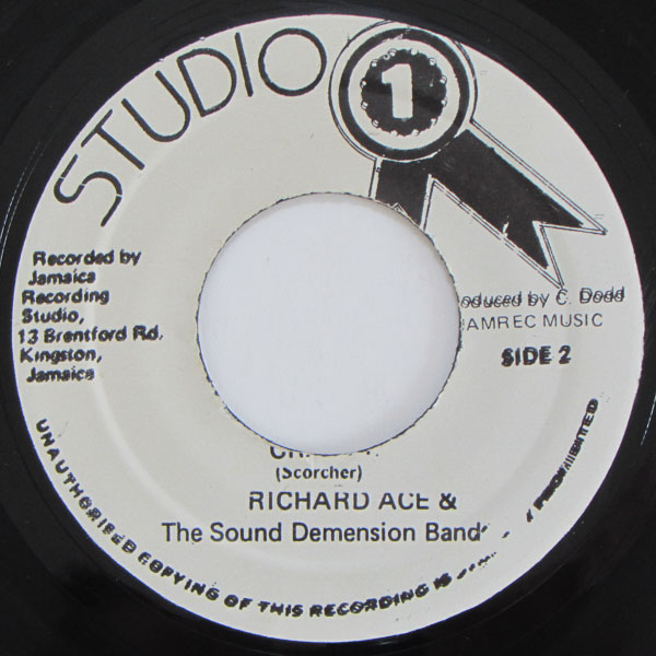 Richard Ace, The  Sound Dimensions Band - Can't Get Enough