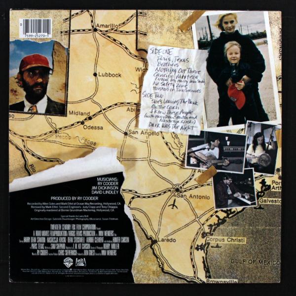 Ry Cooder - Paris, Texas - Original Motion Picture Soundtrack