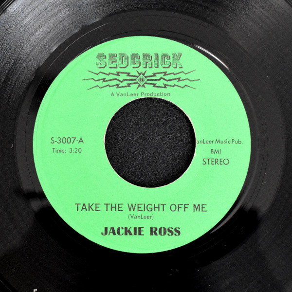 Jackie Ross - The Weight Off Me / A One Woman Man