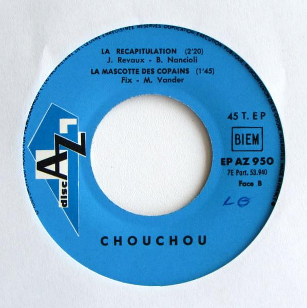 Chouchou - Chouchou Chante