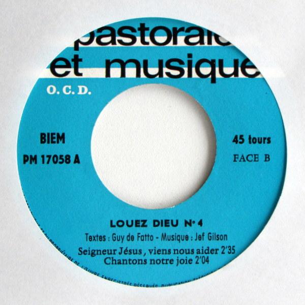 Jef Gilson - Louez Dieu 4