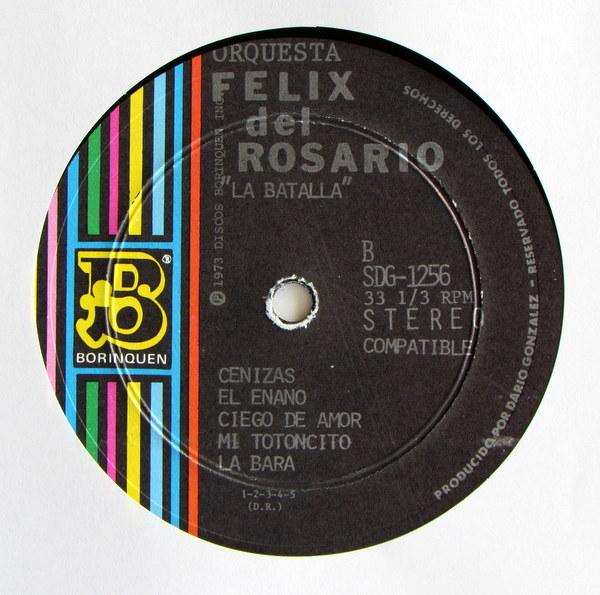 Orquesta Felix Del Rosario - La Batalla