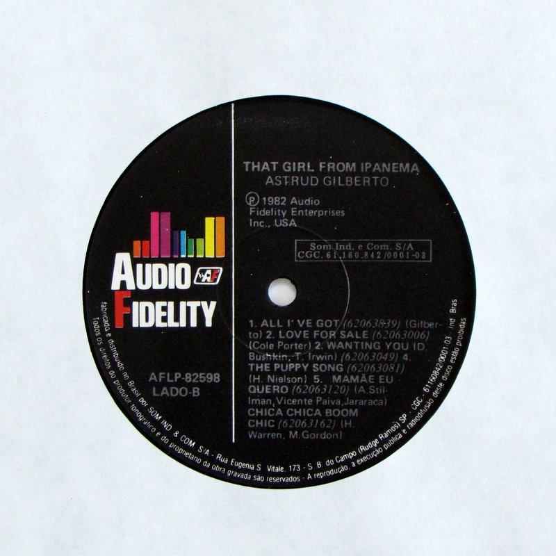 Astrud Gilberto - That Girl From Ipanema