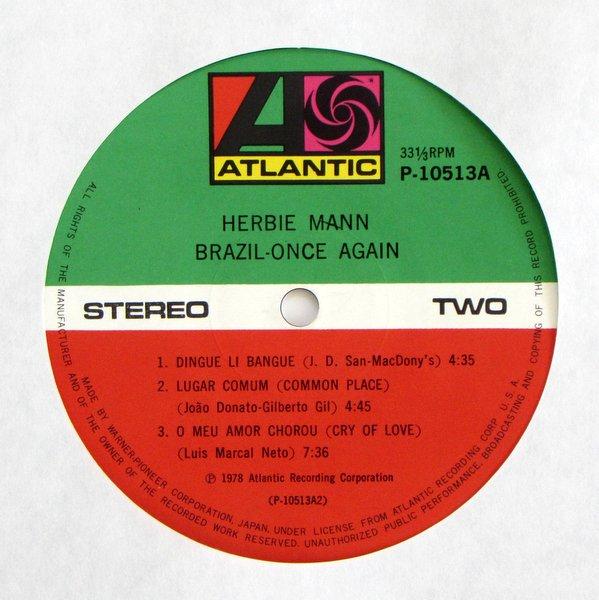 Herbie Mann - Brazil Once Again
