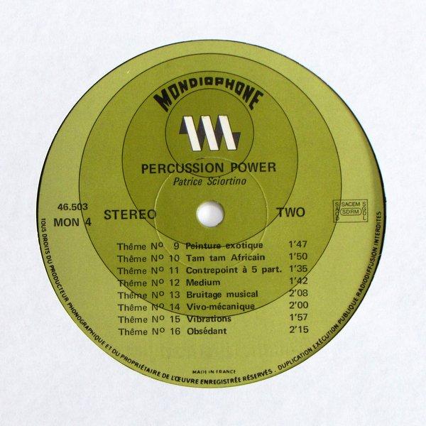 Patrice Sciortino - Percussion Power