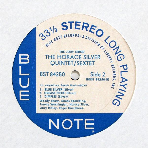 Horace Silver Quintet / Sextet - The Jody Grind