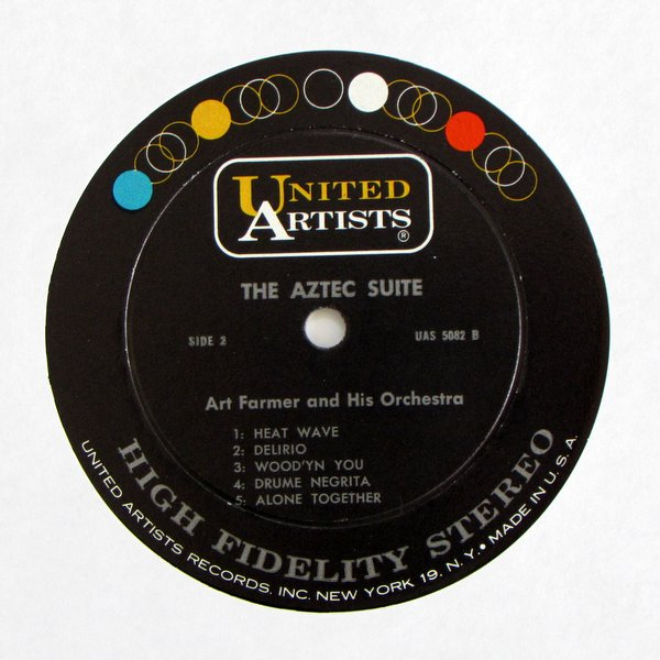 Art Farmer And His Orchestra - The Aztec Suite