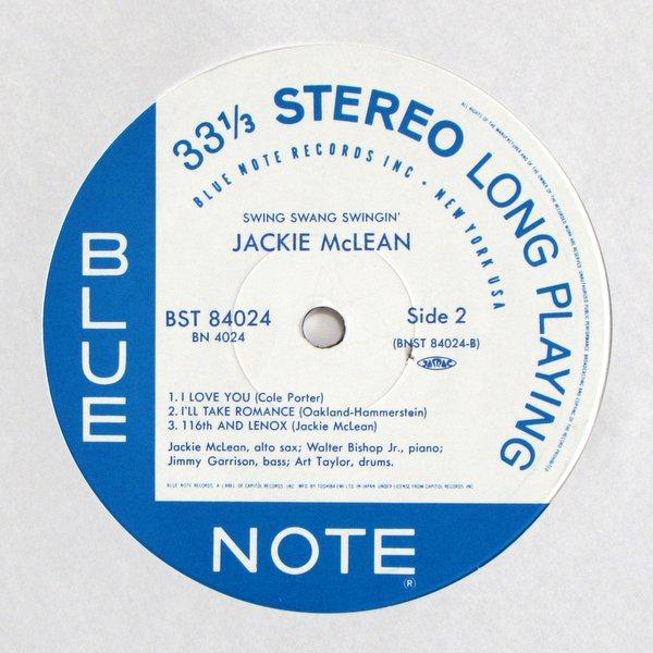 Jackie Mclean - Swing Swang Swingin'