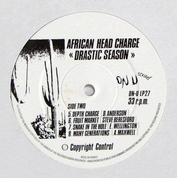 African Head Charge - Drastic Season