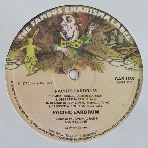 Pacific Eardrum - S/T