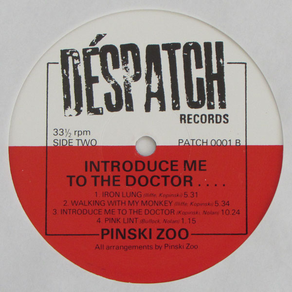 Pinski Zoo - Introduce Me To The Doctor...