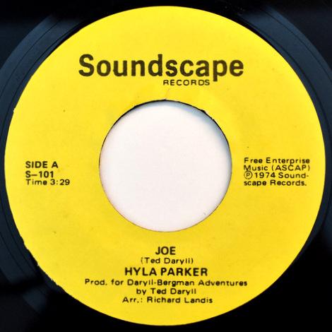 Hyla Parker - Joe レア レアクロスオーバーモダンステッパー