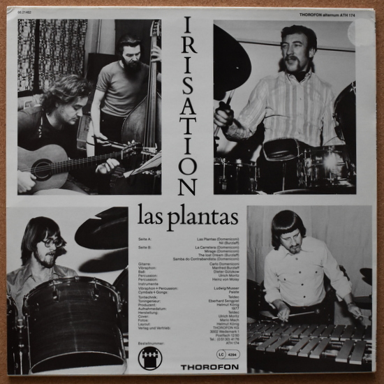Heinz von Moisy / Irisation - Las Plantas