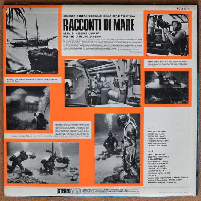 Bruno Zambrini - Racconti Di Mare (Colonna Sonora Originale Della Serie Televisiva)