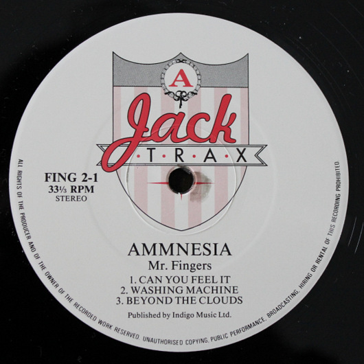Mr Fingers - Ammnesia