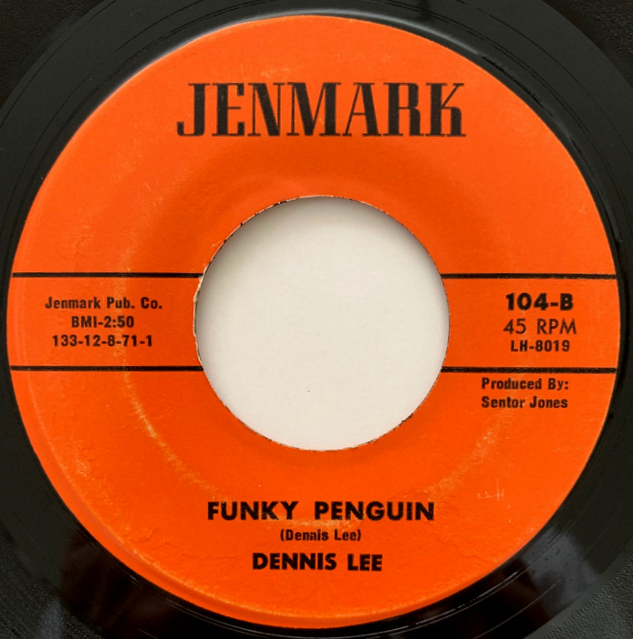 Dennis Lee (& The Notables) Sunday Afternoon / Funky Penguin