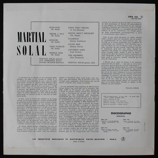 Martial Solal - Martial Solal