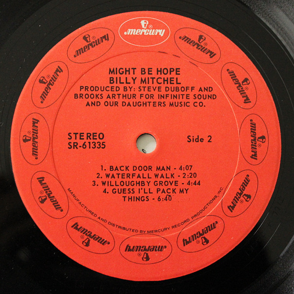 Billy Mitchel - Might Be Hope