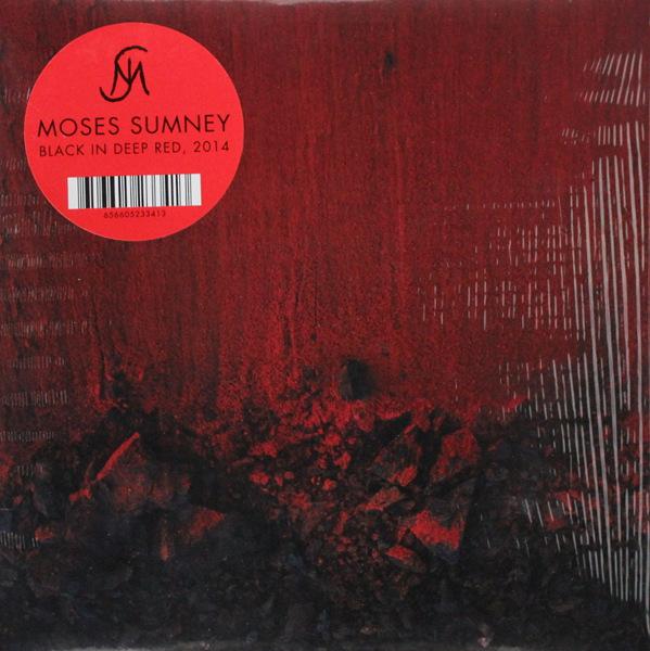 Moses Sumney - BLACK IN DEEP RED,2014   RSD2019