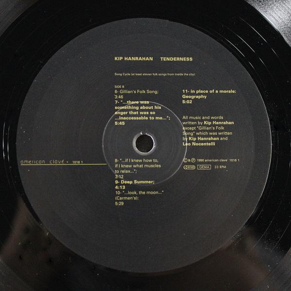 Kip Hanrahan - Tenderness
