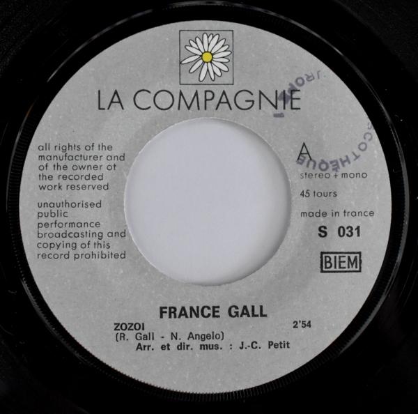 France Gall - ZoZoi / Merry Merry O!