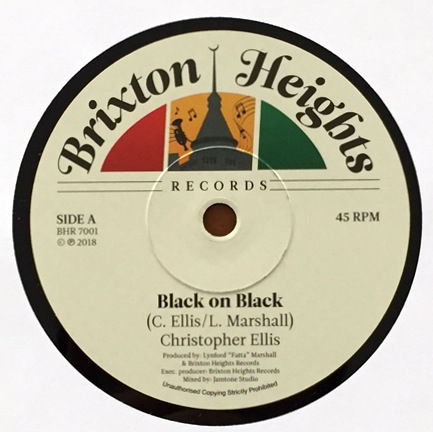 Christopher Ellis - Christopher Ellis - Black On Black  新品 限定