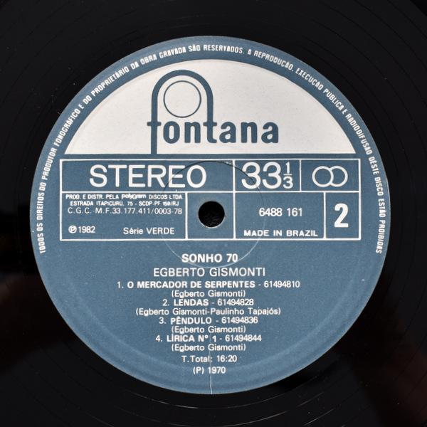 Egberto Gismonti - Sonho 70