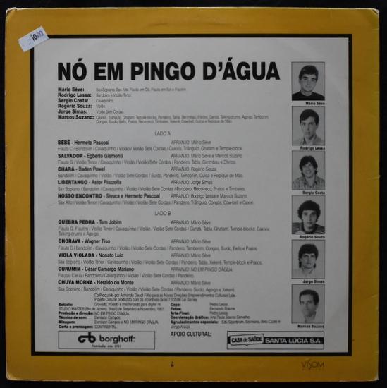 No Em Pingo D'Agua - Salvador