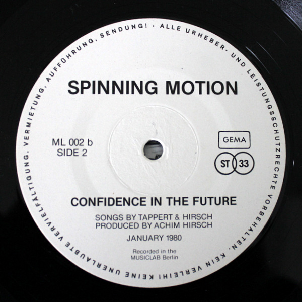 Spinning Motion - Confidence In The Future