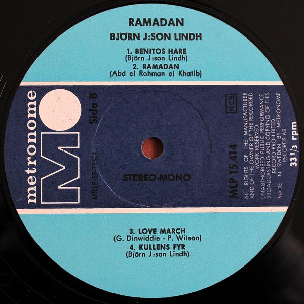 Bjorn J:Son Lindh - Ramadan