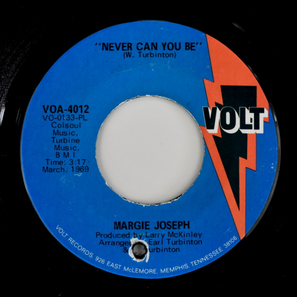Margie Joseph - One More Chance / Never Can You Be