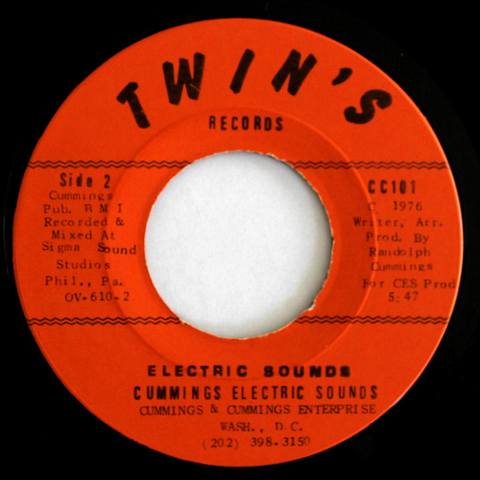 Cummings Electric Sounds - Electric Sounds