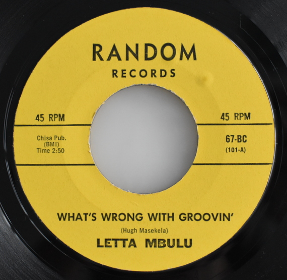 Letta Mbulu - What's Wrong With Groovin' / Ushaka