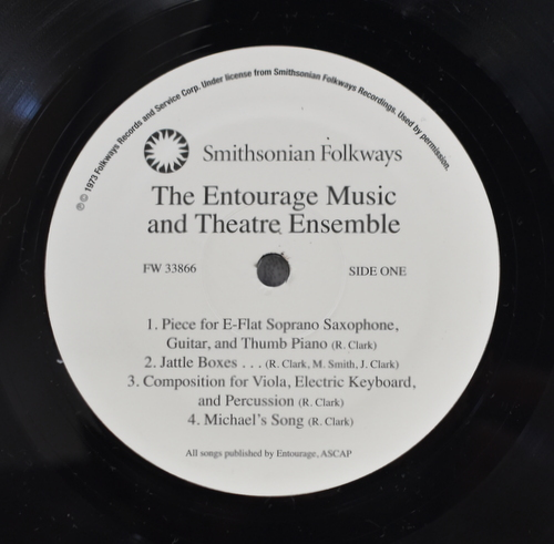The Entourage Music And Theatre Ensemble - The Entourage Music And Theatre Ensemble
