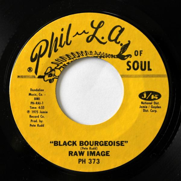 Raw Image - Black Bourgeoise / Go For Broke