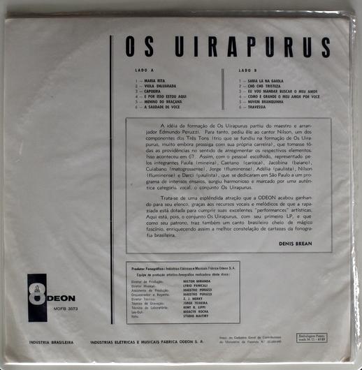 Os Uirapurus - Os Uirapurus