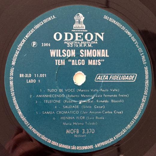 Wilson Simonal - Tem Algo Mais Bossa 名盤