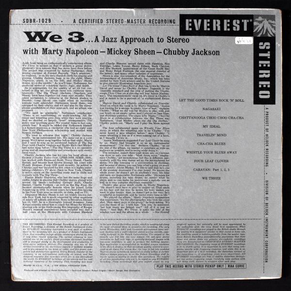 Marty Napoleon / Mickey Sheen / Chubby Jacson - WE3