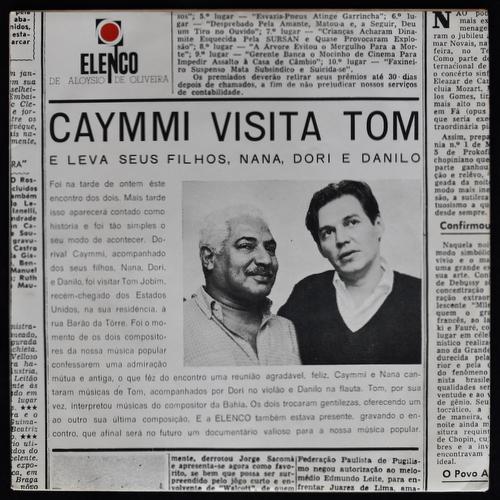 Dorival Caymmi & Tom Jobim - Caymmi Visita Tom E Leva Seus Filhos Nana, Dori & Danilo