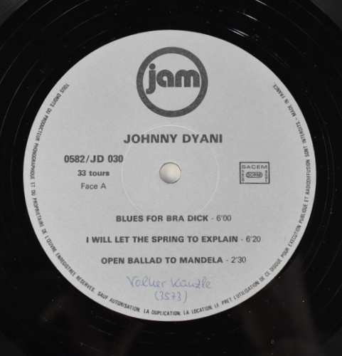 "Johnny ""Mbizo"" Dyani - Grand Mother's Teaching"