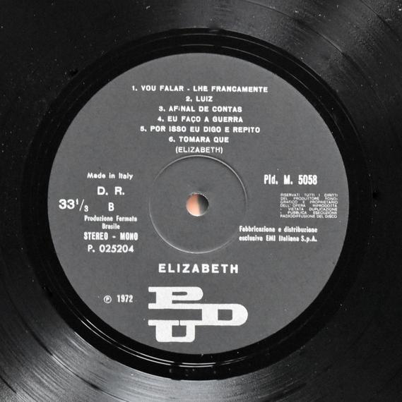 Elizabeth - Quero Ver De Pert  [LP]