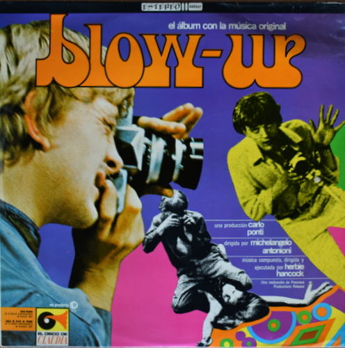 Herbie Hancock - Blow-Up ( El Album Con La Musica Original )メキシコオリジナル。