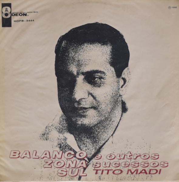 Tito Madi - Balanco Zona Sul E Outros Sucessos