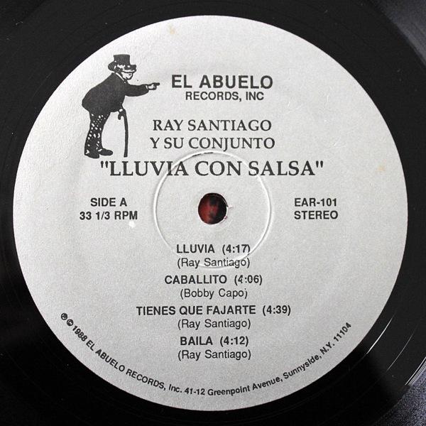 Ray Santiago Y Su Conjunto - Lluvia Con Salsa