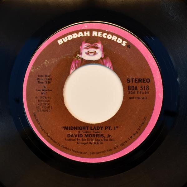 David Morris Jr. - Midnight Lady - Pt. I / Midnight Lady - Pt. II