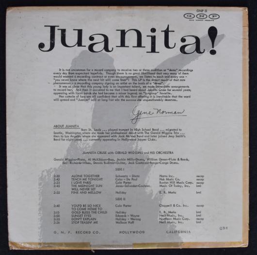 Juanita Cruse - Juanita