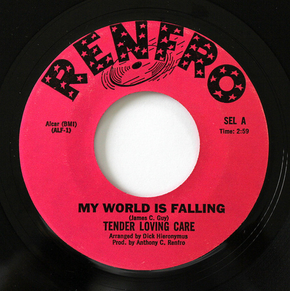 Tender Loving Care - My World Is Falling / Two Fools Are We